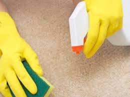 تنظيف السجاد بالخل