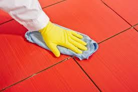 تنظيف البلاط